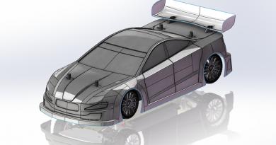 LC Racing 1:10 Tourenwagen