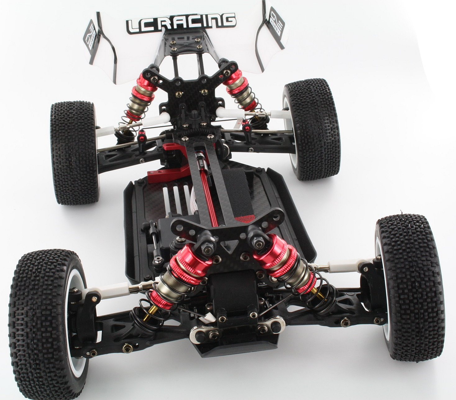 005CHL3-Brücke-hinten-3,0mm-Carbon-LC-Racing-Truggy-Desert-Truck-Short-Course-Rally