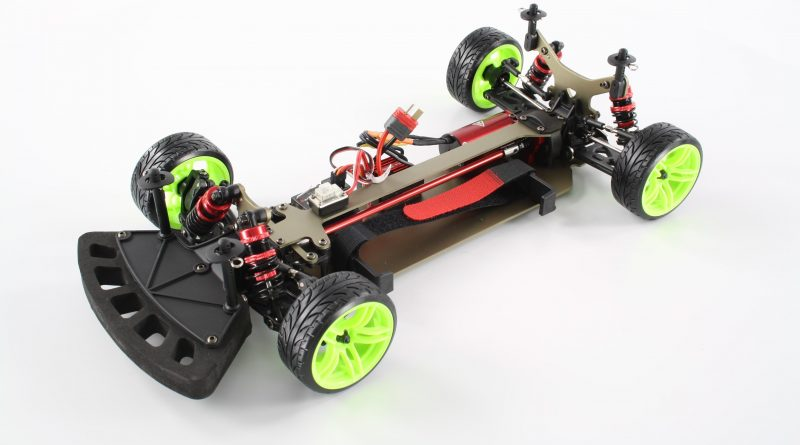 (Deutsch) LC Racing EMB-TCD 1:10 Brushless Drift Car RTR